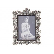 Fotolijst Clayre & Eef 9x13 cm silver plated