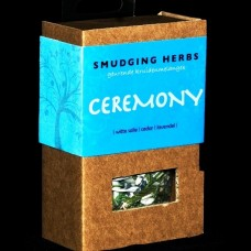 Smudging herbs Ceremony
